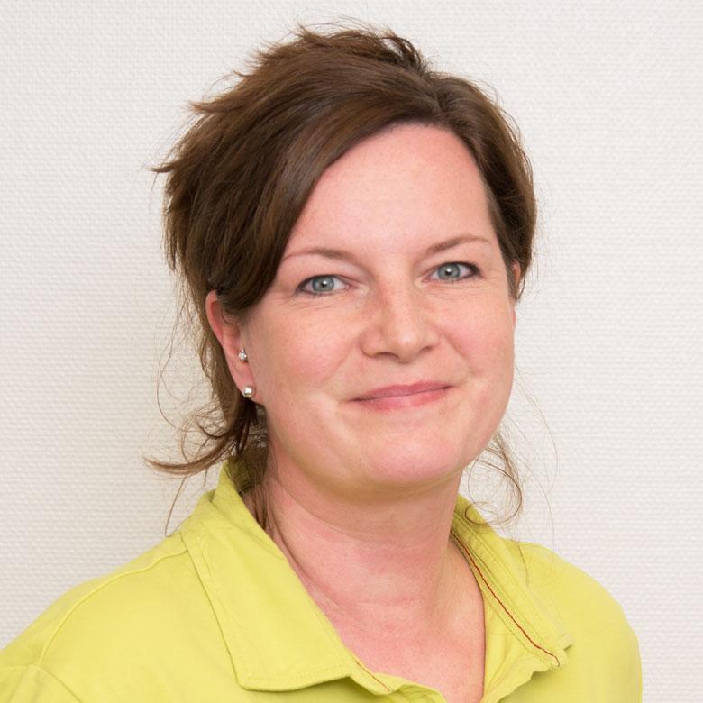 Ramona Pohlenz, medizinisch technische Angestellte der Gemeinschaftspraxis Huntemann
