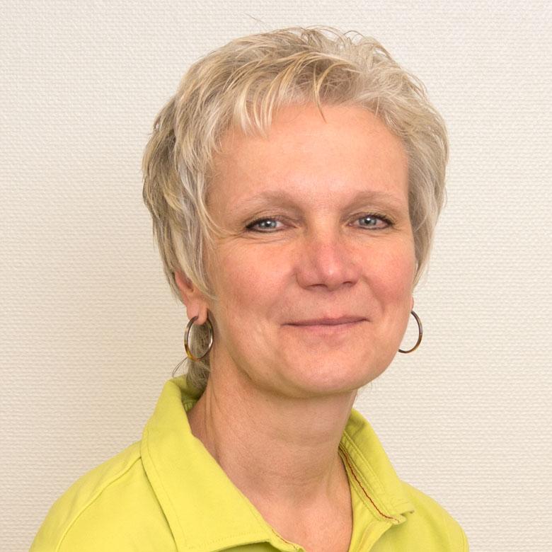 Elke Sakuth, medizinisch technische Angestellte der Gemeinschaftspraxis Dres. Huntemann