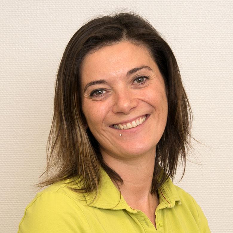 Jasmin Brandenburg, medizinisch technische Angestellte der Gemeinschaftspraxis Huntemann