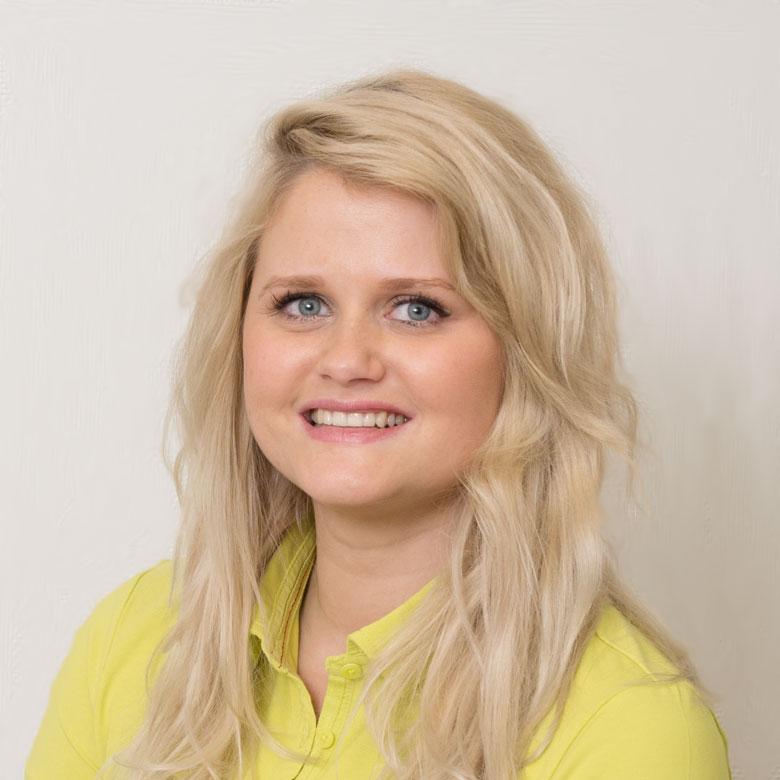 Denise Tausch, medizinisch technische Angestellte der Praxis Dres. Huntemann